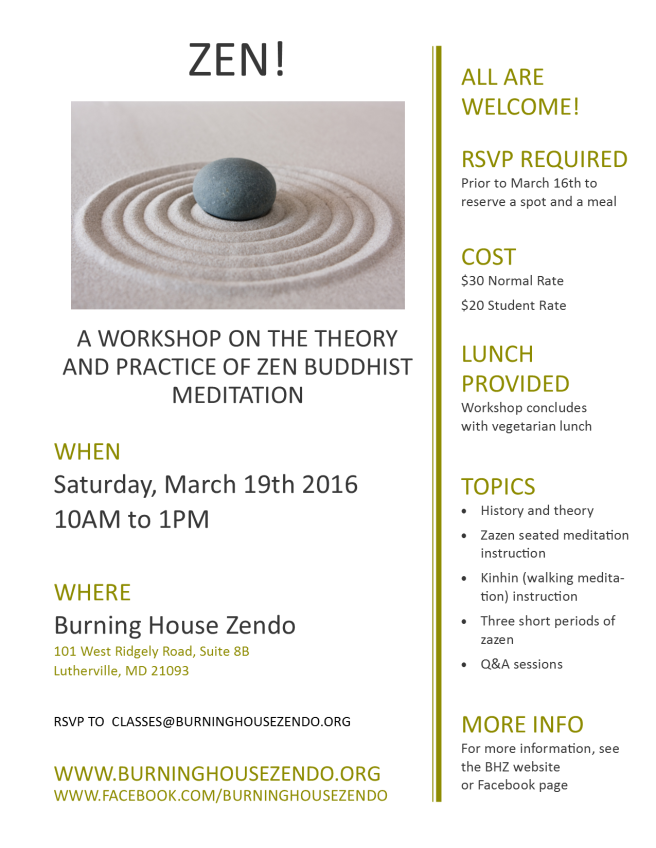 march 2016 zen workshop